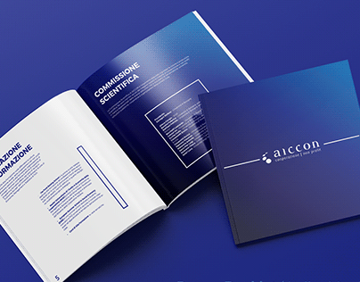 Aiccon: Promotional Booklet | Nonprofit Organization