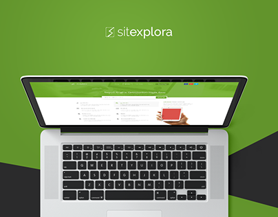 Sitexplora - Web Interface Design
