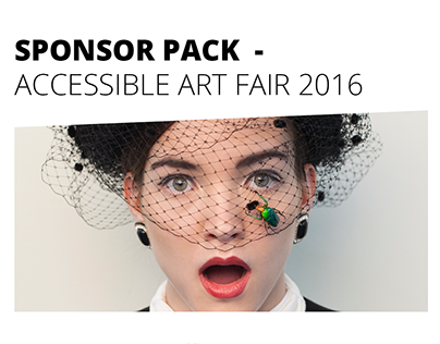 Sponsor Pack - Accessible Art Fair 2016