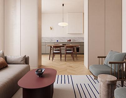 123 sq meters apartment