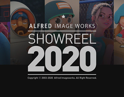 Alfred Imageworks Showreel 2020