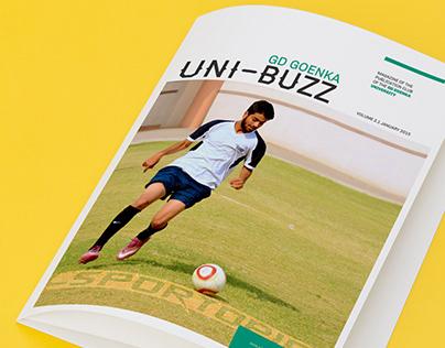 GD Goenka UNIBUZZ Magazine