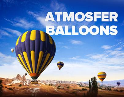 Atmosfer Balloons Cappadocia Web Design