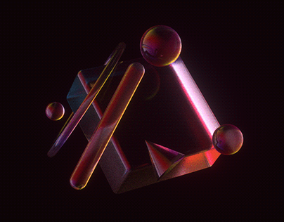 3D Color Glass