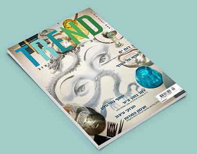 TREND Magazine Cover and Print Design