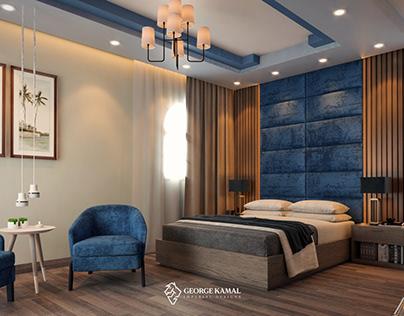 REHAB CITY VILLA BEDROOM