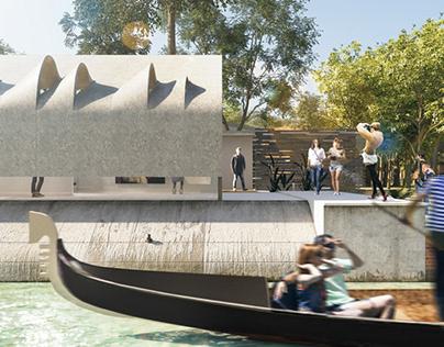 The Australian Pavilion -  Full CGI Works