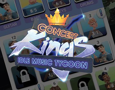 UI DESIGN: Concert Kings Idle Music Tycoon