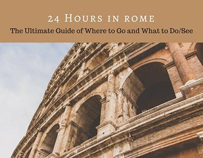 Domenica Cresap- 24 Hours in Rome: The Ulimate Guide
