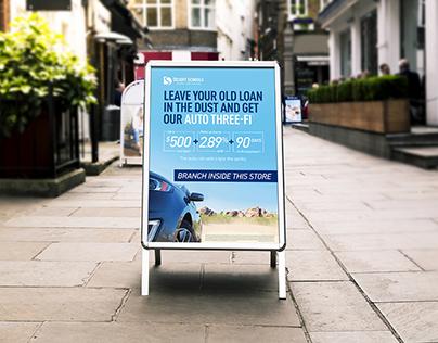 Auto Threefi Rebranding Campaign