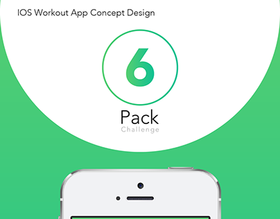 IOS Workout App Concept Design