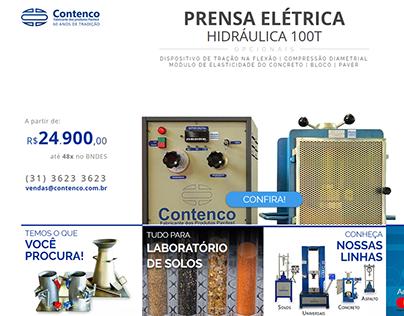 Contenco | Prensa landing page