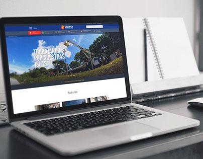 Diseño Web - Fotografia SOPESA.COM
