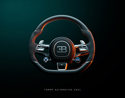 Bugatti Chiron UE4