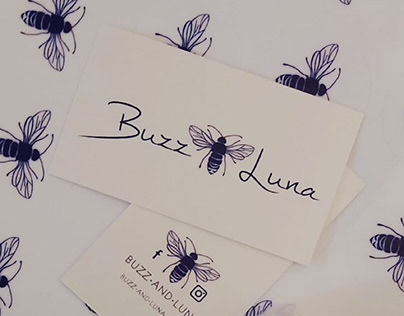 buzz+luna: branding project