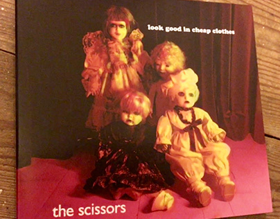 The Scissors (uk) 'Look good in cheap clothes' CD