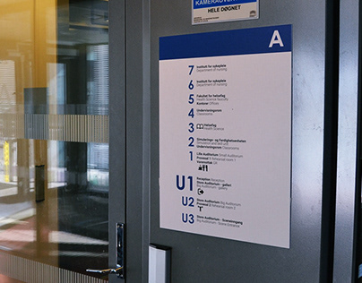 Wayfinding and Signs in the OsloMet campus
