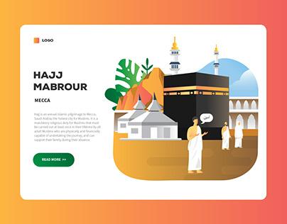 Hajj Landing Page