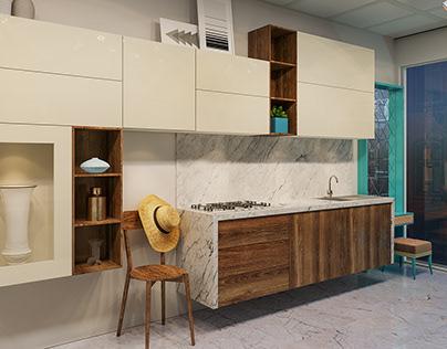 kitchen shop rendering
