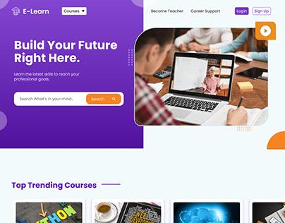 E-Learn- Online Learning Platform