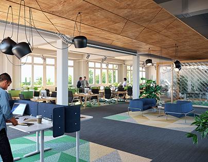 Office Interior Design for Sweden