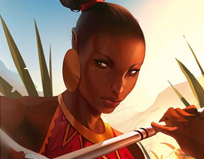 Nubian Warrior-01