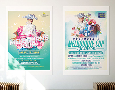 Melbourne Cup Posters & Invitations