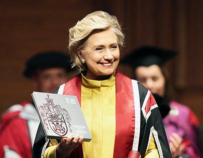 Hillary Rodham Clinton VIP Book