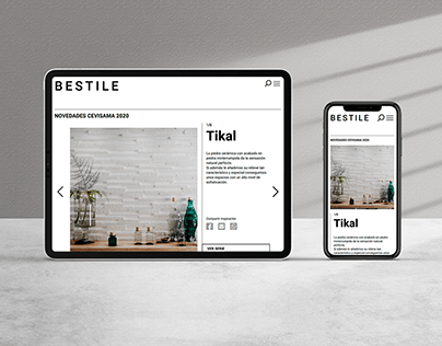 Website design for Bestile
