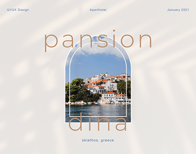 Pansion Dina Aparthotel Website