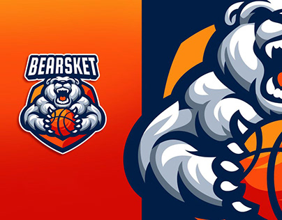 Basket Ball Logo Design.
