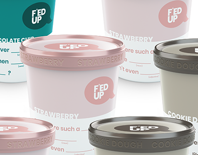 F'ED UP: Ice cream/candy bar packaging concept