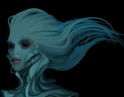 Создание существа «Horror of the depths» в 3D