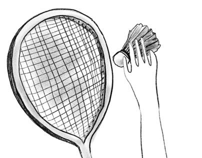 Branding. Badminton. Animation.