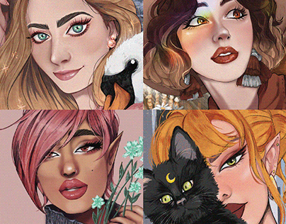 Portrait Illustrations