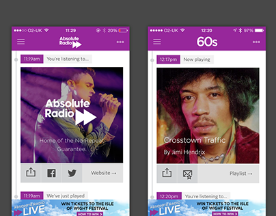 Absolute Radio app