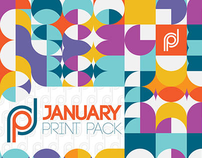 January Print Pack By Designrar