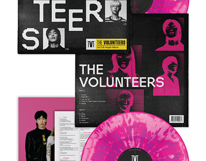 Band The Volunteers 1st LP : ODD ver.