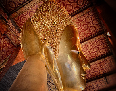"""Wat Pho, or """"Temple of the Reclining Buddha"""""""