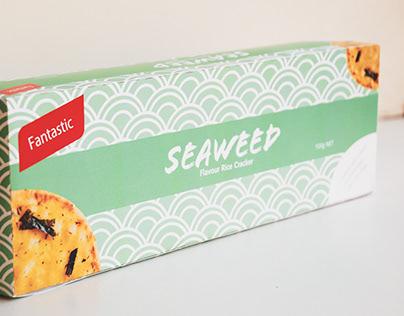 -Seaweed Rice Cracker Packing-