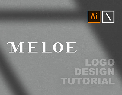 MELOE Logo Design | Adobe Illustrator Tutorial