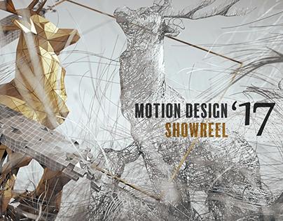 Motion Design Reel 2017