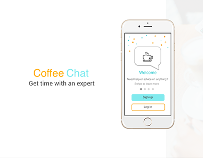 Coffee Chat mobile app