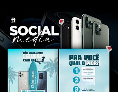 Social Media | Gêmeos do Iphone