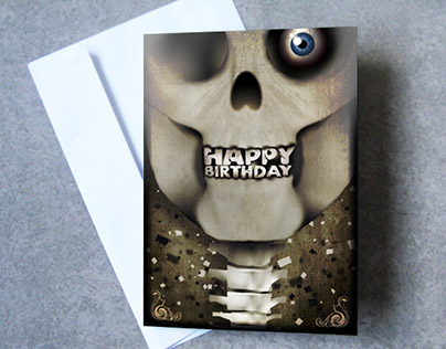 Gothic Greeting Cards . By TOTAL LOST.
