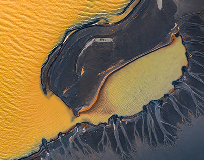 A COLORFUL FLOW (Yellow Series) – Iceland