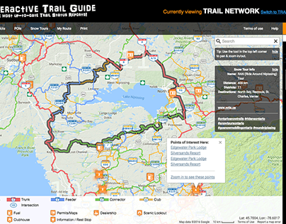 OFSC Interactive Trail Guide
