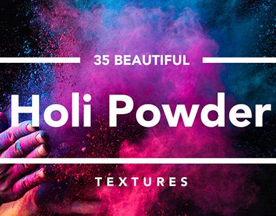 Holi Powder Textures By:Fox & Bear