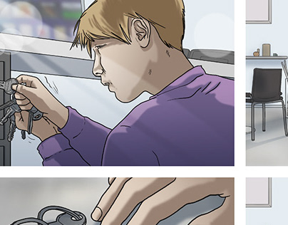 Storyboarding for TV Commercials (Bebat)