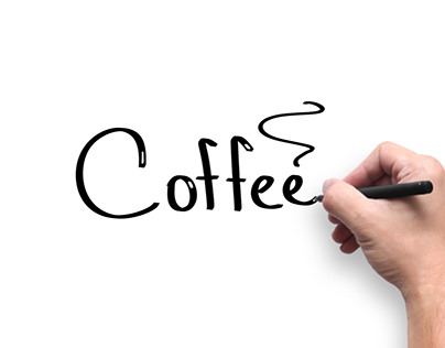 Whiteboard animation about coffee